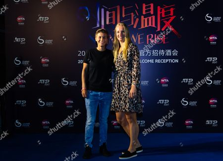 Editorial image of China Open Players Party, Arrivals Tennis, Beijing, China - 29 Sep 2019