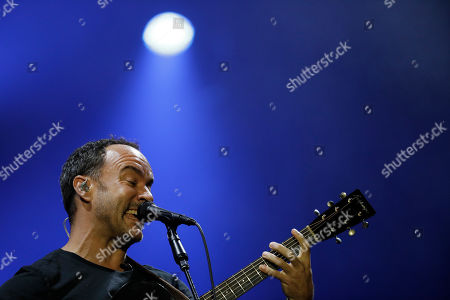 Dave Matthews Band's lead singer Dave Matthews performs at the Rock in Rio music festival in Rio de Janeiro, Brazil