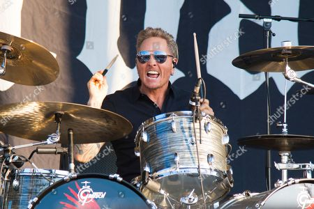 Matt Sorum of Deadland Ritual performs during Louder Than Life at Highland Festival Grounds at KY Expo Center, in Louisville, Ky