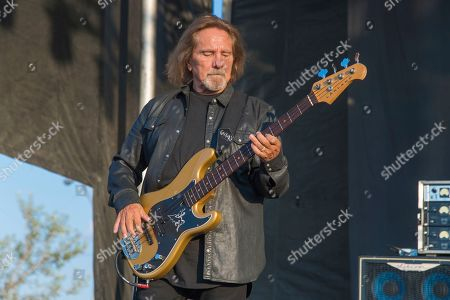 Stock Photo of Geezer Butler of Deadland Ritual performs during Louder Than Life at Highland Festival Grounds at KY Expo Center, in Louisville, Ky