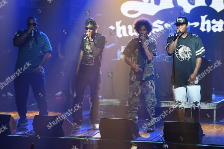Stock Picture of Anthony Henderson, Charles C. Scruggs, Stanley Howse, Steven Howse - Bone Thugs-n-Harmony