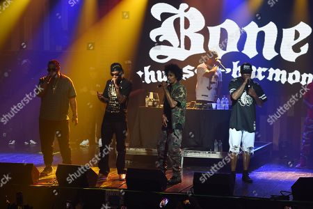 Editorial image of Bone Thugs-n-Harmony in concert at Revolution Live, Fort Lauderdale, Florida, USA - 28 Sep 2019