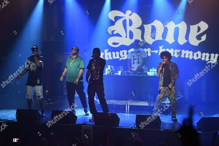 Editorial picture of Bone Thugs-n-Harmony in concert at Revolution Live, Fort Lauderdale, Florida, USA - 28 Sep 2019