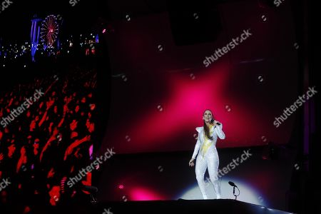 Ivete Sangalo performs, during Rock in Rio 2019, in Rio de Janeiro, Brazil, 29 September 2019.