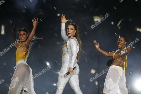 Stock Image of Ivete Sangalo performs, during Rock in Rio 2019, in Rio de Janeiro, Brazil, 29 September 2019.