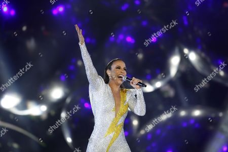 Stock Picture of Ivete Sangalo performs, during Rock in Rio 2019, in Rio de Janeiro, Brazil, 29 September 2019.