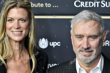 Stock Photo of Roland Emmerich (R) and festival director Nadja Schildknecht attend the 15th Zurich Film Festival (ZFF), in Zurich, Switzerland, 29 September 2019. The festival runs from 26 September to 06 October 2019.