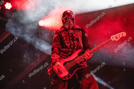 Piggy D. performs with Rob Zombie during Louder Than Life at Highland Festival Grounds at the Kentucky Exposition Center, in Louisville, Ky