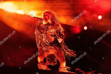 Rob Zombie performs during Louder Than Life at Highland Festival Grounds at the Kentucky Exposition Center, in Louisville, Ky
