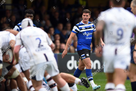 Stock Picture of Rhys Priestland of Bath Rugby