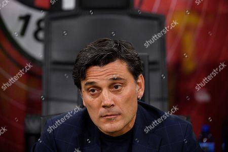 Fiorentina manager Vincenzo Montella