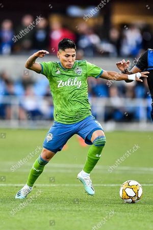 Editorial picture of MLS Sounders vs Earthquakes, San Jose, USA - 29 Sep 2019