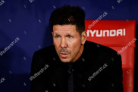 Atlético Madrid manager Diego Simeone
