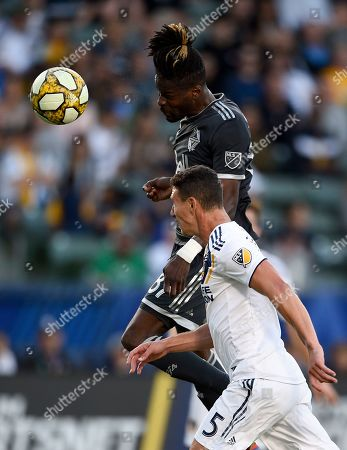 Editorial photo of MLS Whitecaps Galaxy Soccer, Carson, USA - 29 Sep 2019
