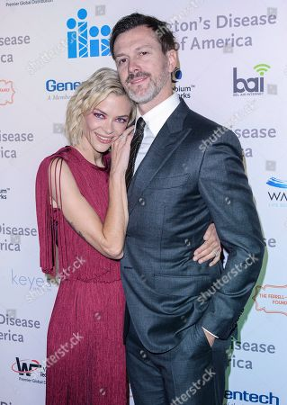Stock Photo of Jaime King and Kyle Newman