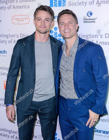 Wilson Bethel and Scott Porter