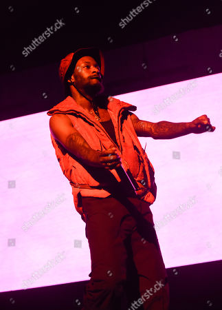 Editorial image of Tyler, The Creator in concert at American Airlines Arena, Miami, USA - 29 Sep 2019