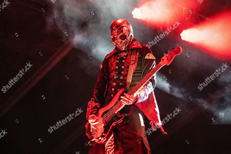 Piggy D. performs with Rob Zombie during Louder Than Life at Highland Festival Grounds at Kentucky Exposition Center Center, in Louisville, Ky