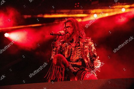 Stock Image of Rob Zombie performs during Louder Than Life at Highland Festival Grounds at Kentucky Exposition Center Center, in Louisville, Ky