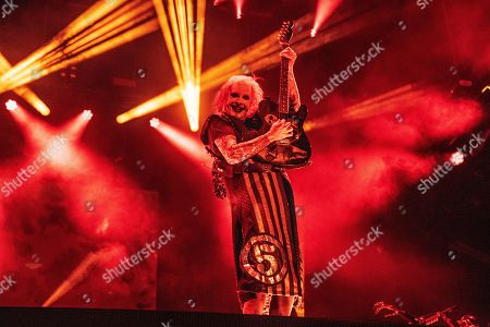 Stock Picture of John 5 performs with Rob Zombie during Louder Than Life at Highland Festival Grounds at Kentucky Exposition Center Center, in Louisville, Ky