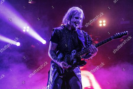Stock Image of John 5 performs with Rob Zombie during Louder Than Life at Highland Festival Grounds at Kentucky Exposition Center Center, in Louisville, Ky