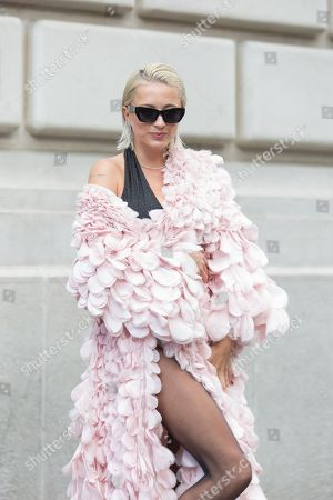 Editorial image of Street Style, Spring Summer 2020, Paris Fashion Week, France - 29 Sep 2019