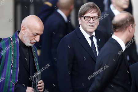 Editorial image of Funeral for former French president Jacques Chirac, Paris, France - 30 Sep 2019