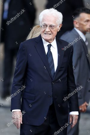 Former French prime minister Lionel Jospin attends a memorial service for French former President Jacques Chirac, at the Church of Saint-Sulpice in Paris, France, 30 September 2019. Jacques Chirac died on 26 September in Paris, aged 86. The 30th September 2019 has been declared a day of national mourning in France.