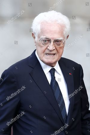 Editorial picture of Funeral for former French president Jacques Chirac, Paris, France - 30 Sep 2019