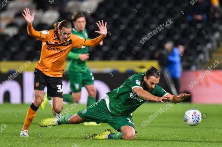 Editorial image of Hull City v Sheffield Wednesday, EFL Sky Bet Championship, Football, KCOM Stadium, Hull, UK - 01 Oct 2019