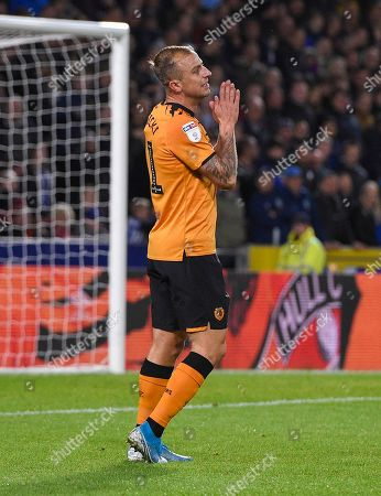 Kamil Grosicki of Hull City looks dejected after missing a chance to score