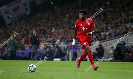 David Alaba of Bayern Munich