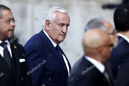 French former Prime Minister Jean-Pierre Raffarin attends a memorial service for French former President Jacques Chirac at the Church of Saint-Sulpice in Paris, France, 30 September 2019. Jacques Chirac died on 26 September in Paris, aged 86. 30 September 2019 has been declared a day of national mourning.