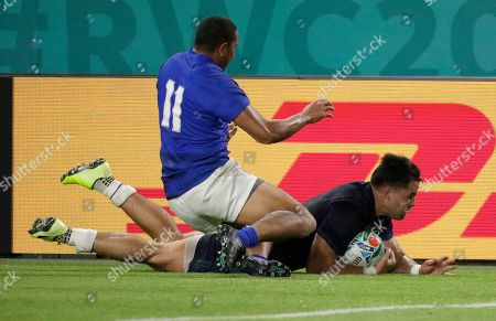 Editorial image of Japan Rugby WCup Scotland Samoa - 30 Sep 2019