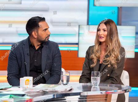 Asif Ali and wife Charlotte Ali