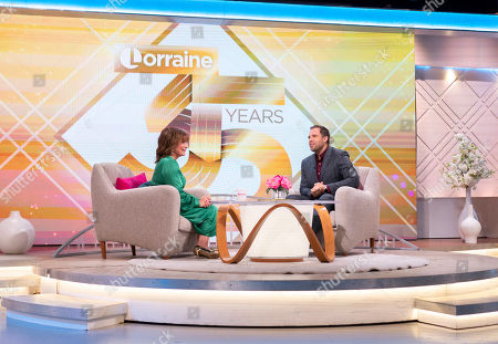 Editorial picture of 'Lorraine' TV show, London, UK - 30 Sep 2019