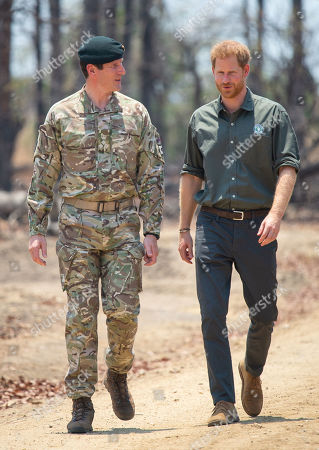 Editorial picture of Prince Harry visit to Africa - 30 Sep 2019