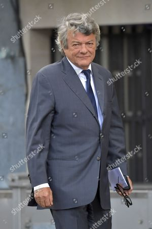 French former Environment minister Jean-Louis Borloo  A solemn service will be rendered at St Saint-Sulpice churc