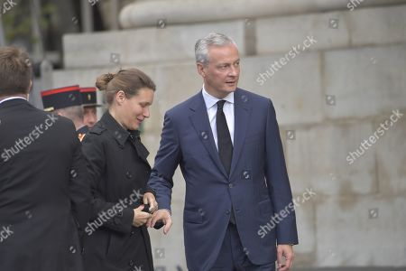 Editorial photo of The funeral of former French president, Jacques Chirac, Paris, France - 30 Sep 2019