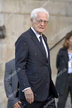 Stock Image of Former French prime minister Lionel Jospin