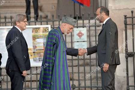 Stock Picture of Former Afghan Hamid Karzai