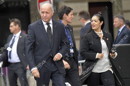 The President of the constitutional council Laurent Fabius