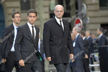 Gabriel Attal and Jean-Michel Blanquer