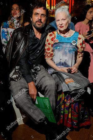 Andreas Kronthaler for Vivienne Westwood in the front row