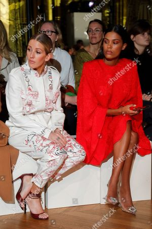 Editorial picture of Stella McCartney show, Front Row, Spring Summer 2020, Paris Fashion Week, France - 30 Sep 2019
