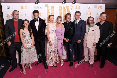 Darci Shaw, Royce Pierreson, Jessie Buckley, Renee Zellweger, Rupert Goold, Rufus Sewell and Andy Nyman