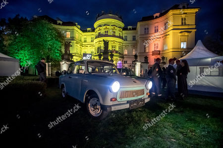 Editorial picture of Ceremony marking the 30th anniversary of East Germans' exodus into West German embassy, Prague, Czech Republic - 30 Sep 2019