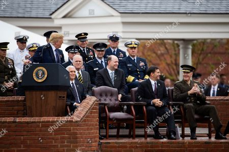Editorial photo of Trump, Arlington, USA - 30 Sep 2019