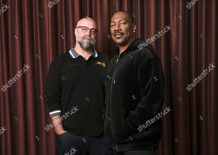"Eddie Murphy, Craig Brewer. Eddie Murphy, right, star of the film ""Dolemite Is My Name,"" with director Craig Brewer at the Shangri-La Hotel during the Toronto International Film Festival in Toronto"