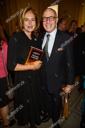 Stock Image of Caroline Michel and guest